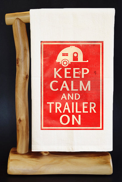 TRAILER ON Dish Towel & Reusable Bag!