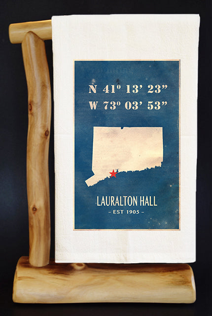 25% NET PROCEEDS BENEFITS LAURALTON HALL. VINTAGE MAP 28