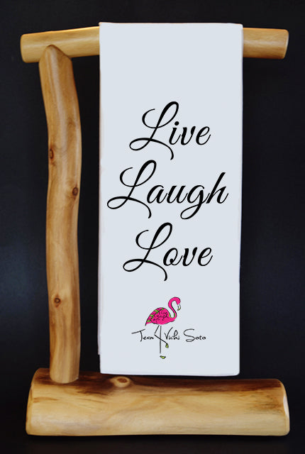 20% Net Proceeds Benefits Vicki Soto Memorial Fund! Live Laugh Love CharityRagg & Gift Bag.
