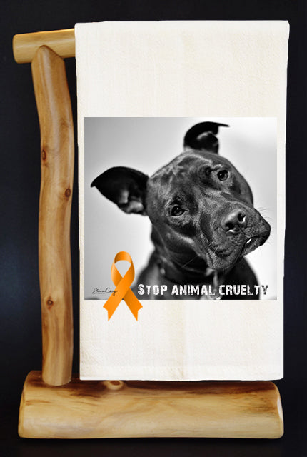 40% Net Proceeds Benefits Animal Rescue & Pediatric Cancer. MAGNUM Dish Towel & Reusable Bag!