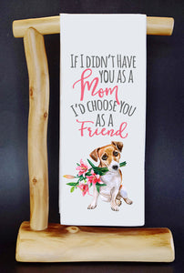 20% Net Proceeds Benefits GOOD LIF3 BULLY RESCUE TX! MOM, MY FRIEND Dish Towel & Reusable Bag!