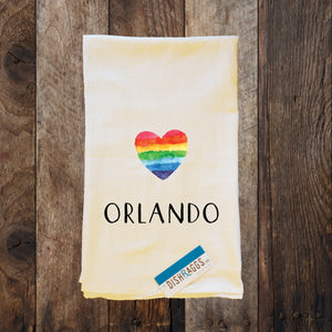 "ORLANDO 30"" x 30"" Light Weight (Shabby Chic) Flour Sack Dish Towel"
