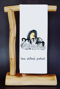 20% Net Proceeds Benefits SEA SHEPHERD CONSERVATION SOCIETY. LOVE. DEFEND. PROTECT. Dish Towel & Reusable Bag!
