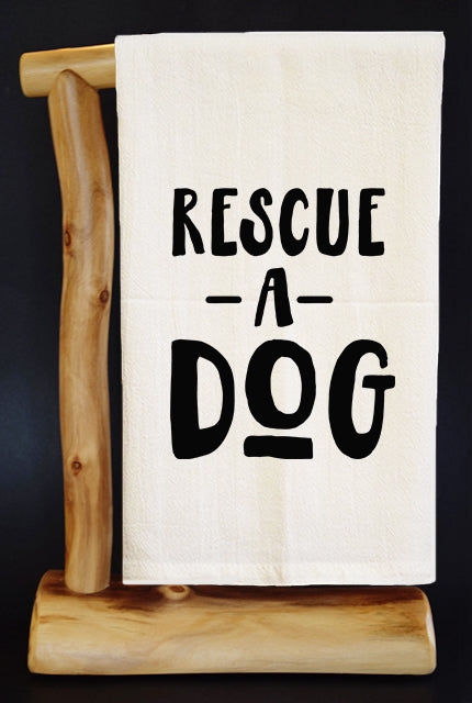20% Net Proceeds Benefits COASTAL GERMAN SHEPHERD • Premium Flour Sack Dish Towel & Reusable Bag!