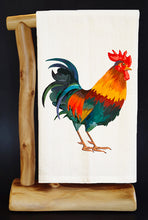 "ROOSTER 28"" X 29"" Premium Flour Sack Dish Towel & Reusable Bag"