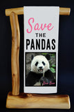 $5 Benefits PANDAS INTERNATIONAL! Bao Bao Dish Towel. Comes with matching gift bag!