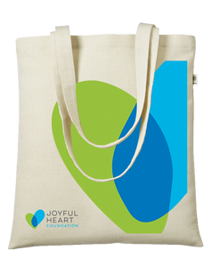 40% NET PROCEEDS BENEFITS THE JOYFUL HEART FOUNDATION • JHF HEMP TOTE BAG