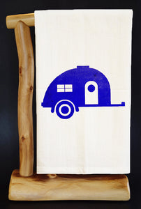 TEAR DROP TRAILER (PICK COLOR) Dish Towel & Reusable Bag!