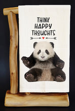 20% Net Proceeds Benefits PANDAS INTERNATIONAL! THINK HAPPY THOUGHTS Dish Towel & Reusable Bag!
