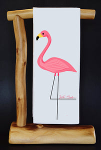 20% Net Proceeds Benefits Vicki Soto Memorial Fund! Plastic Pink Flamingo #4 ChartyRagg & Gift Bag.