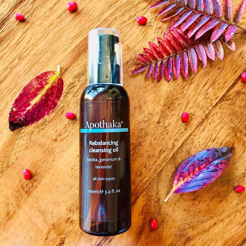 Apothaka Rebalancing cleansing oil review by lime and lilac