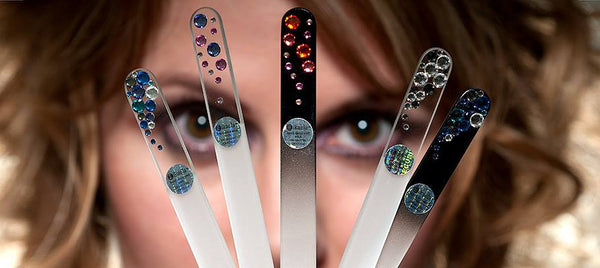 W Glass nail files by Mikaela
