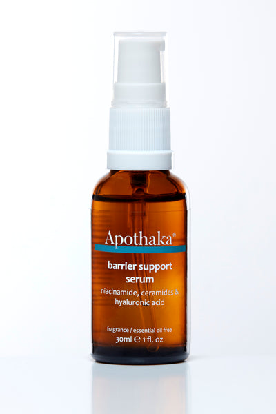 Apothaka barrier support serum with niacinamide ceramides hyaluronic acid