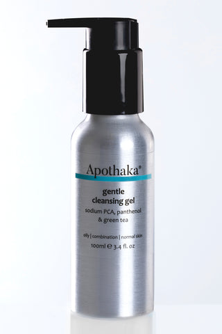 Apothaka gentle cleansing gel oily combination skin