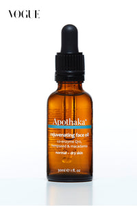 Apothaka rejuvenating face oil CoQ10 normal dry