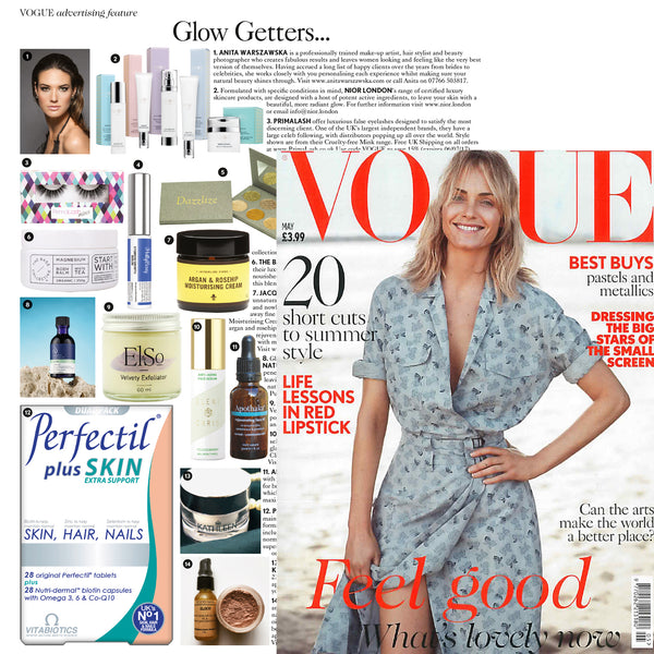 Apothaka rejuvenating face oil in Vogue May 2017