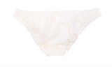 Miss Mandalay Sejal Ivory Ruffle Edge Brief