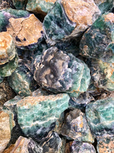 Fluorite, Mexico -  10 pounds *mostly green pieces