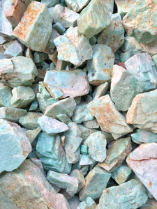 Amazonite Tanzania - 100 pounds
