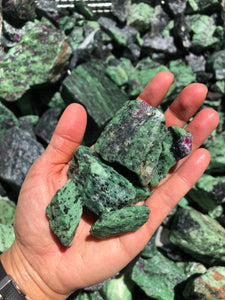 Ruby Zoisite (1st Choice) - 1 pound
