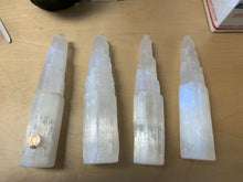 "Selenite (Satin Spar) Rough ~11.5"" Towers 10 pieces"