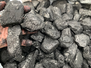 Anthracite Coal MEDIUM pieces - 10 pounds*