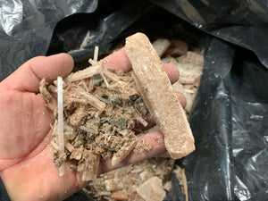 Selenite Rough dust, chips and small pieces - 1lb*
