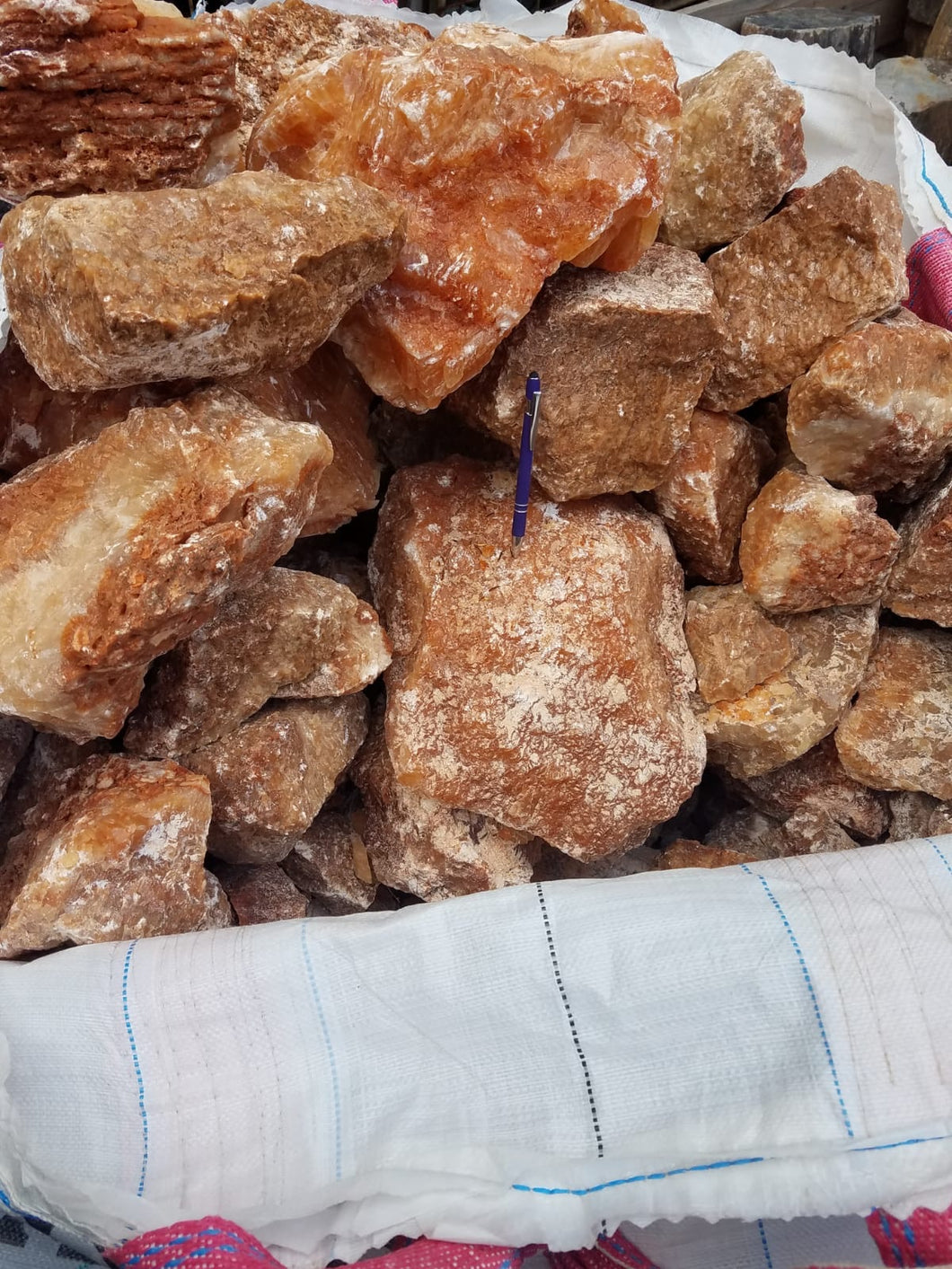 Calcite (Orange) - 1 pound