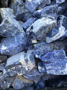 Sodalite from Brazil - 10 pounds