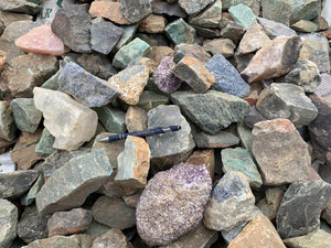 Brazil Stone Mix Larger - 100 pounds