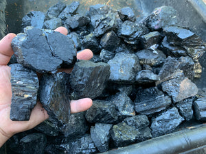 Schorl (Black Tourmaline) LARGE - 10lbs