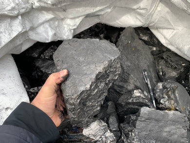 Anthracite Coal LARGE pieces - 10 pounds*