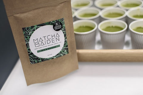 Thank you Matcha Maiden for supporting our community launch event and sponsoring your amazing organic matcha powder!