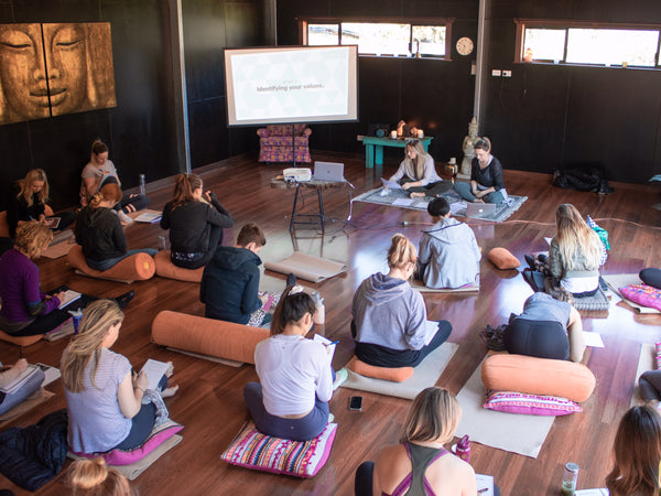 Lululemon Wellness Retreat Goals Values Vision