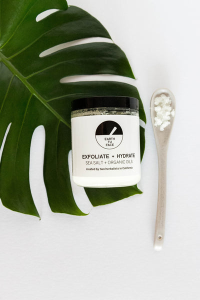 Sea Salt and Organic Oils Scrub