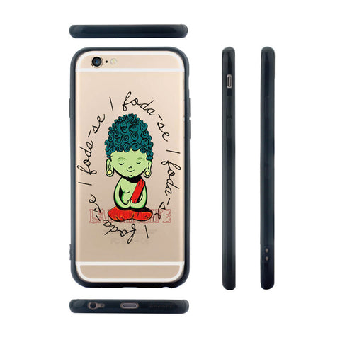 Coques Silicone Bouddha Iphone