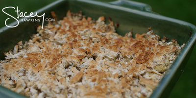 Low Carb Stuffing- a Lean and Green Recipe