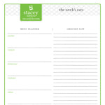 Lean and Green Meals Made Easy Using this Worksheet