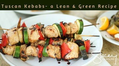 Char Grilled Tuscan Chicken Kebabs a Lean and Green Recipe