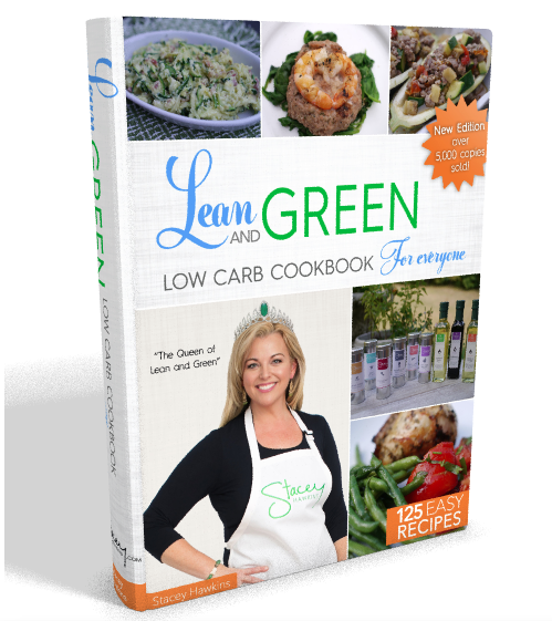 Stacey Hawkins Lean and Green Recipes Low Carb For Everyone Lean and Green Cookbook