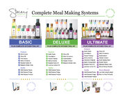 Meal Making System- Ultimate (NO Hardcover Cookbook Included)