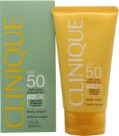 Clinique Body Cream with Solar Smart SPF50 150ml