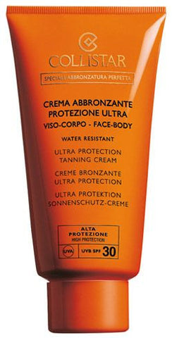 Collistar Ultra Protection Tanning Cream Face-Body SPF30 150ml