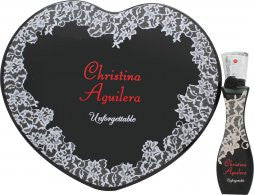 Christina Aguilera Unforgettable Gavesæt 30ml EDP + Tin Heart Box