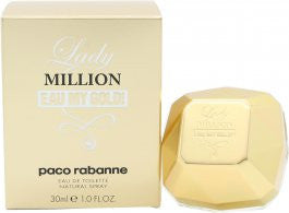 Paco Rabanne Lady Million Eau My Gold! Eau de Toilette 30ml Spray