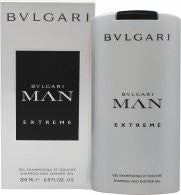 Bvlgari Man Extreme Shampoo & Shower Gel - 200ml