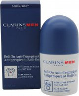 Clarins Men Antiperspirant Deo Roll-On - 50ml