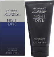 Davidoff Cool Water Night Dive Shower Gel - 150ml