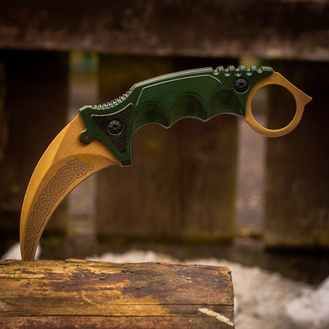 cs go Knives - Karambit Lore in Real Life IRL