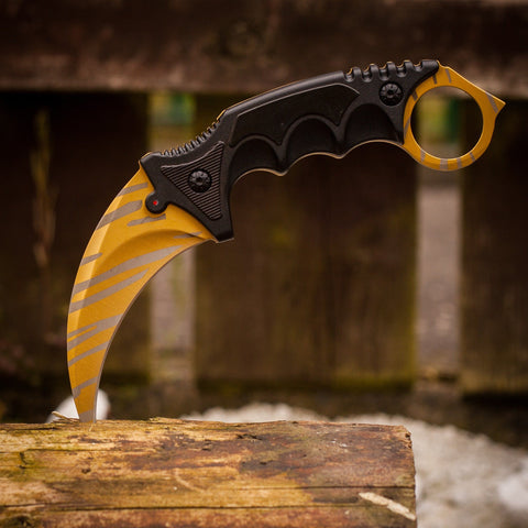 cs go Knives - Karambit Tiger Tooth in Real Life